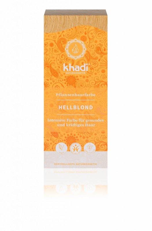 Khadi Plantaardige haarverf Lichtblond
