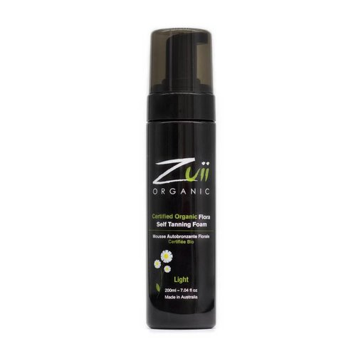 Zuii Organic Self Tanning Foam Light