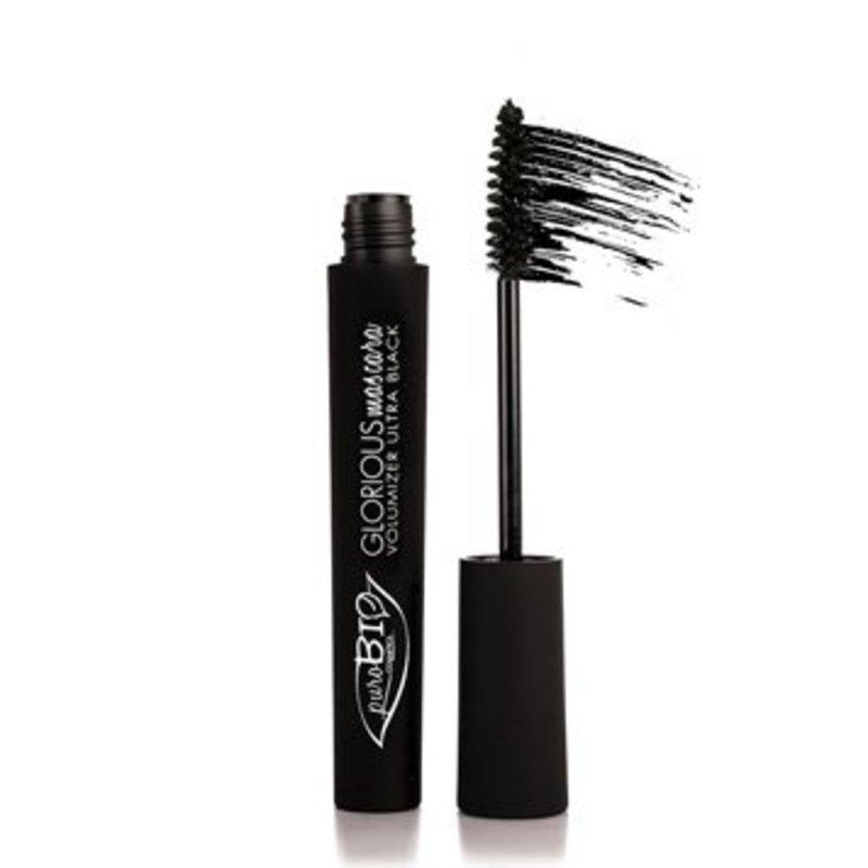 PuroBio Natuurlijke Glorious Ultra Zwarte Volume Mascara