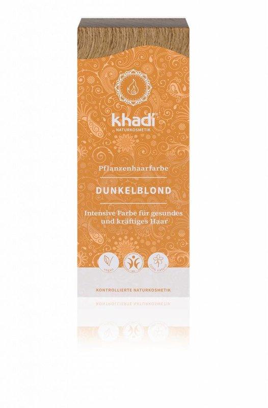 Khadi Henna haarverf donkerblond