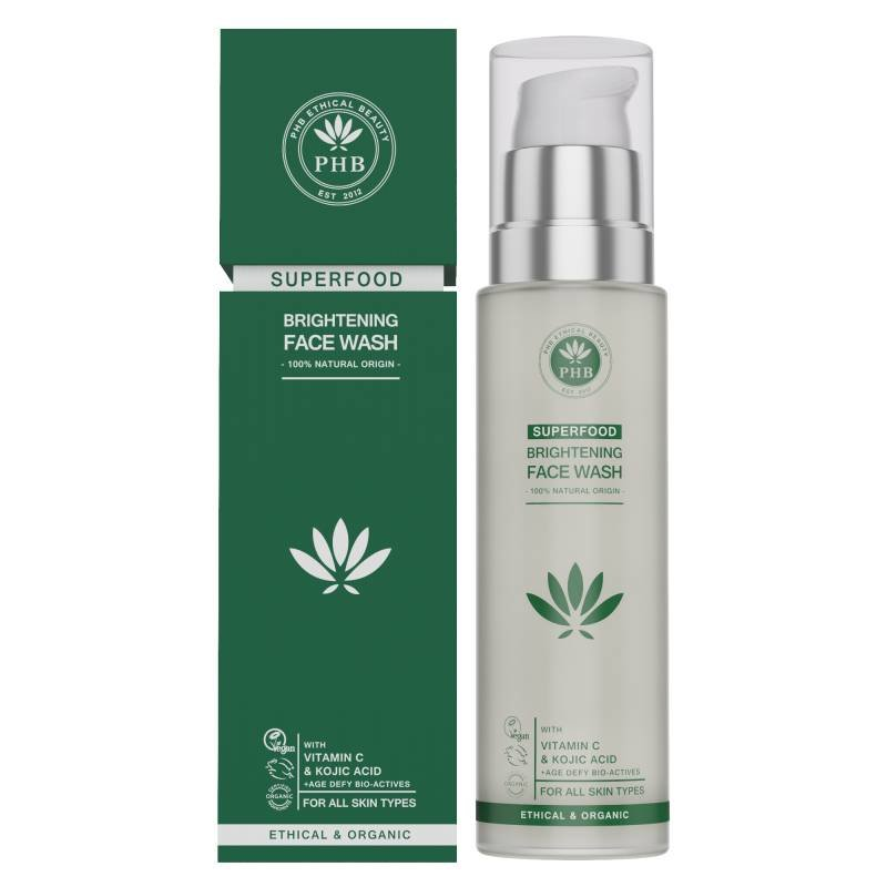 PHB Ethical Beauty Superfood Verhelderende Gezichtswash