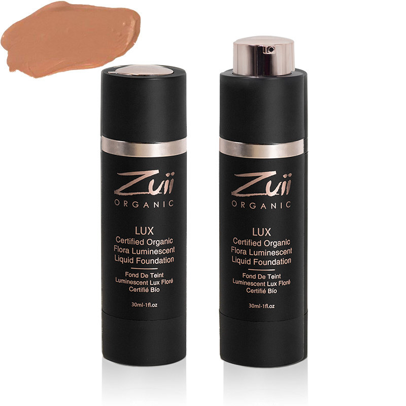 Zuii Organic LUX Luminescent Vloeibare Foundation Sunkissed