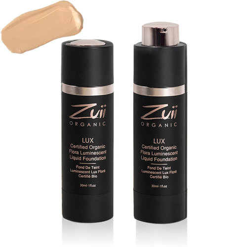 Zuii Organic LUX Luminescent Vloeibare Foundation Dusk