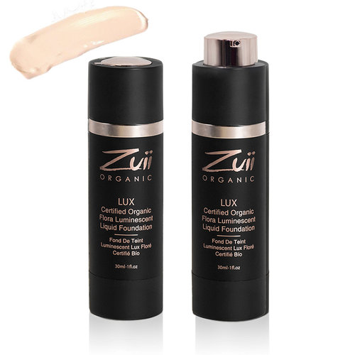 Zuii Organic LUX Luminescent Vloeibare Foundation Ivory
