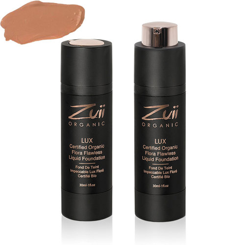 Zuii Organic LUX Flawless Vloeibare Foundation Sunkissed