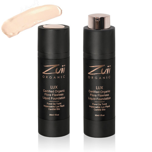 Zuii Organic LUX Flawless Vloeibare Foundation Ivory
