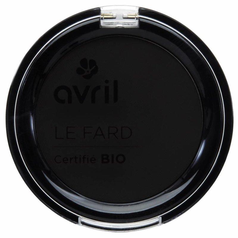 Avril Biologische Oogschaduw Noir Ébenè Mat