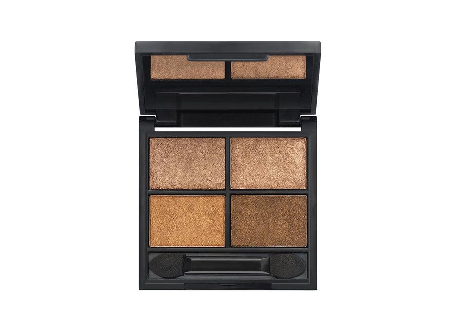 Metallic Quad Eyeshadow Palette Sierra