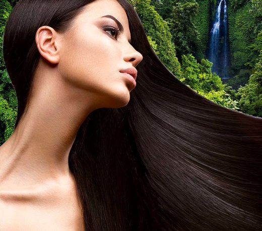 Natuurlijke haarstyling