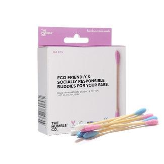 Humble Brush Bamboe Wattenstaafjes roze