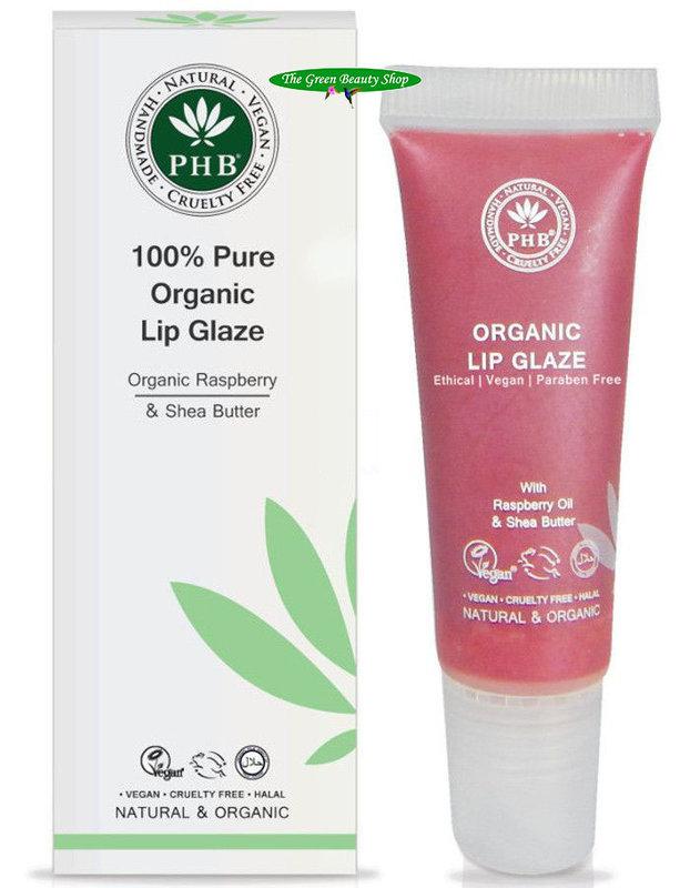 PHB Ethical Beauty Vloeibare Lippenbalsem Raspberry