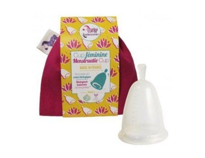 Lamazuna Menstruatie Cup In Opbergzakje Maat1