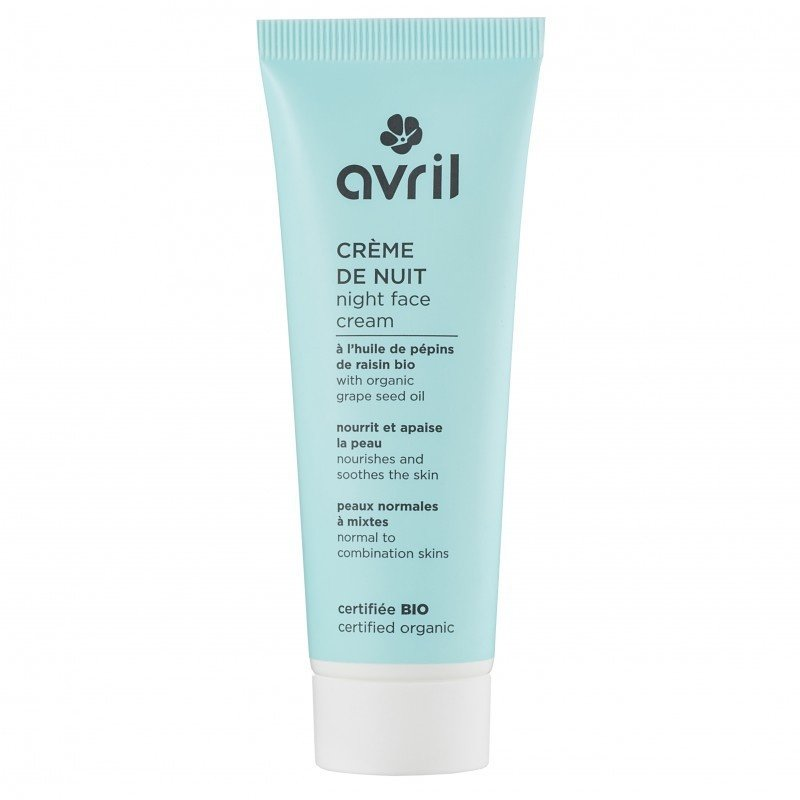 Avril Biologische nachtcreme normale huid