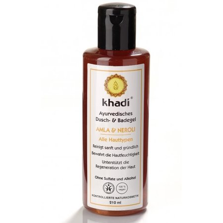 Khadi Bath & Body Wash Amla & Neroli