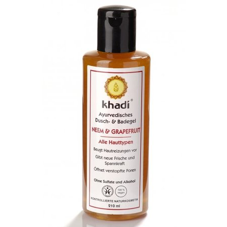 Khadi Bath & Body Wash Neem & Grapefruit
