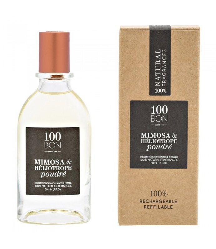 100 Bon Mimosa & Heliotrope Poudre EdP