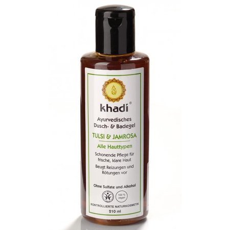 Khadi Bath & Body Wash Tulsi & Jamrosa