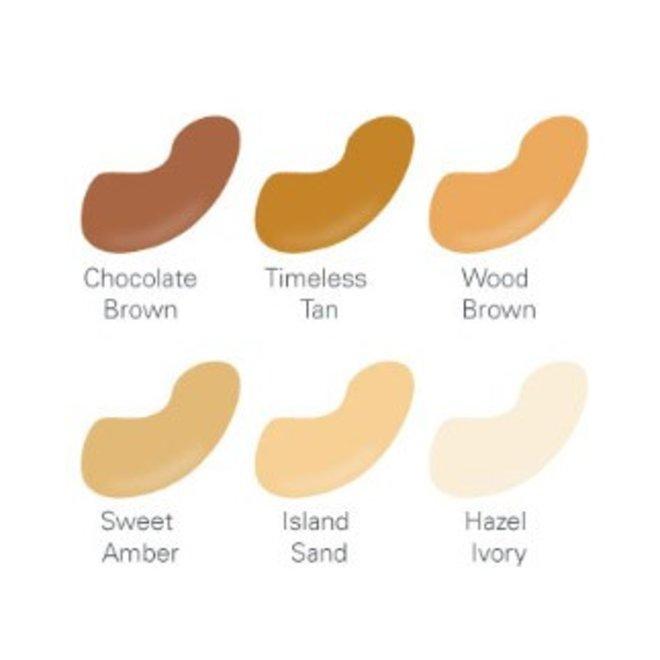 natuurlijke vloeibare foundation Wood Brown