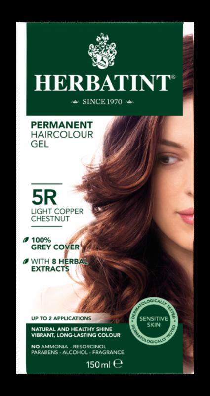 Herbatint Natuurlijke licht koperbruine haarverf 5R