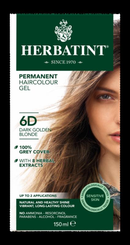 Herbatint Natuurlijke donker goudblonde haarverf 6D