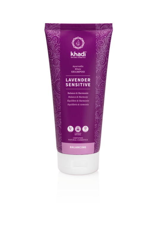 Khadi Natuurlijke Shampoo Gevoelige Hoofdhuid