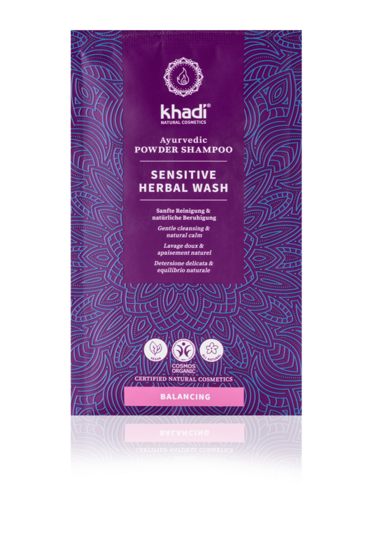Khadi Kruidenshampoo Poeder Sensitive