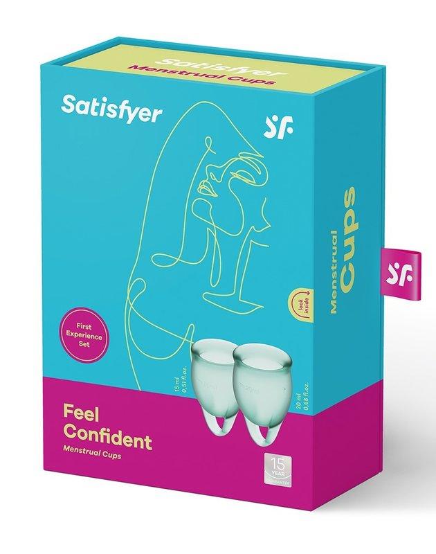 Satisfyer Menstruatie Cups Feel Confident Groen