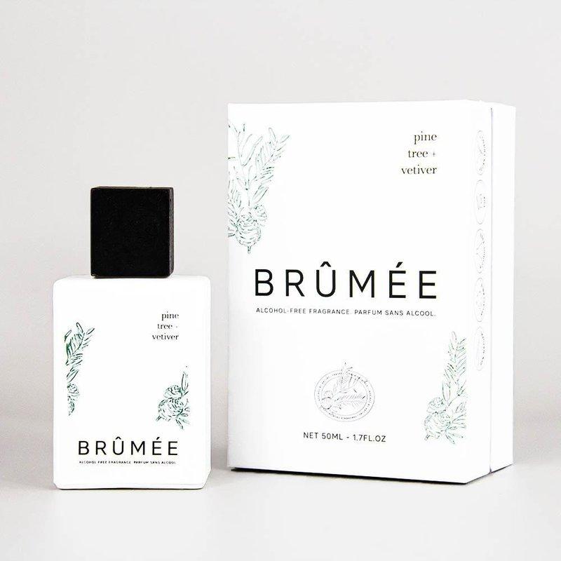 Brûmée Alcoholvrij Parfum Pine Tree + Vetiver