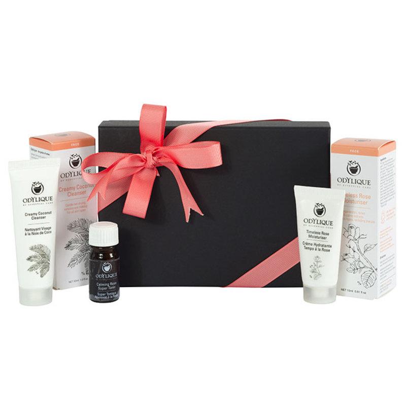 Odylique Rose Cadeau & Reis Set