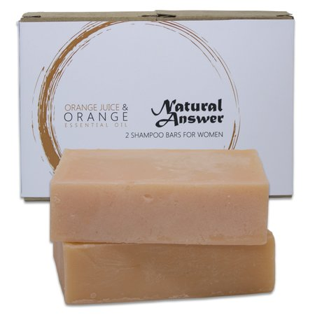 Natural Answer Shampoo Bar Sinaasappel