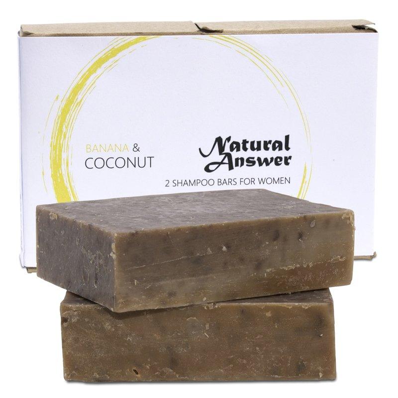Natural Answer Shampoo Bar Banaan & Kokosmelk