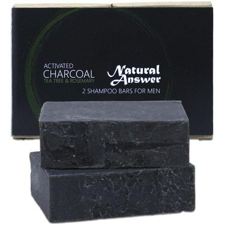 Natural Answer Shampoo Bar Actieve Houtskool