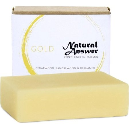 Natural Answer Conditioner Bar Gold