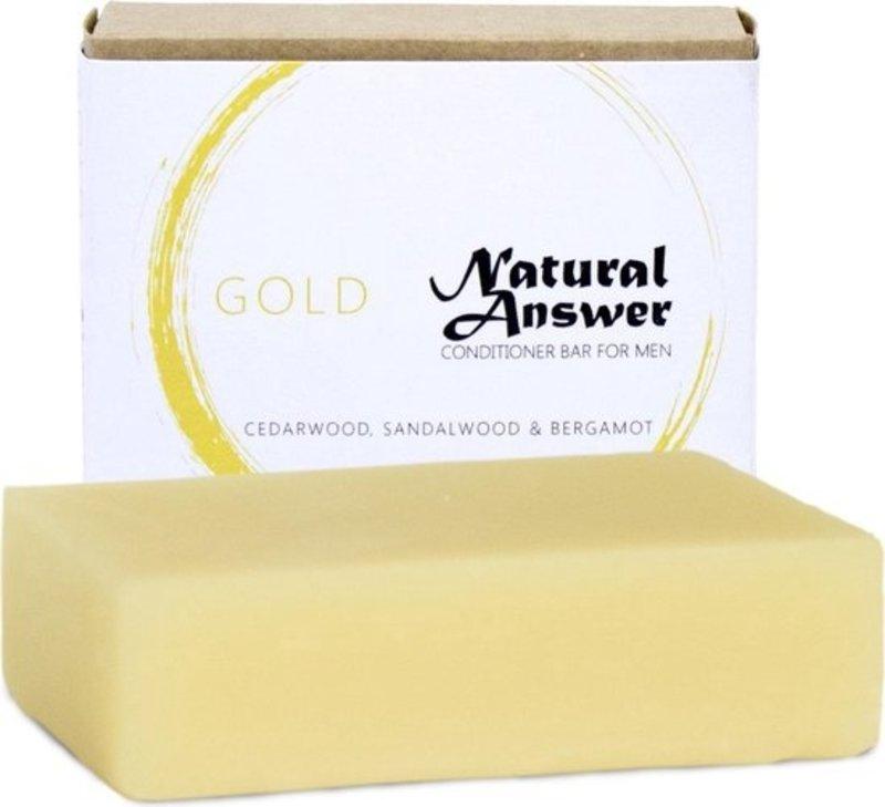 Natural Answer Natuurlijke Conditioner Bar Gold