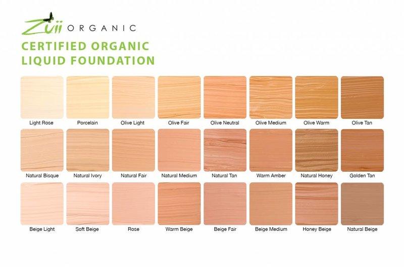 Zuii Organic Natuurlijke foundation Beige Medium