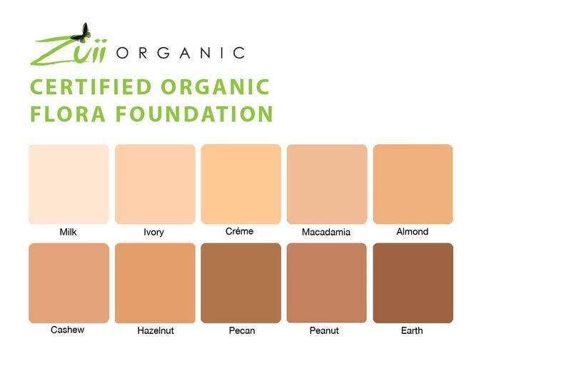 Zuii Organic Foundation Compactpoeder Earth