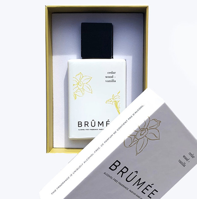 Brûmée Alcoholvrij Parfum Cedar Wood + Vanilla