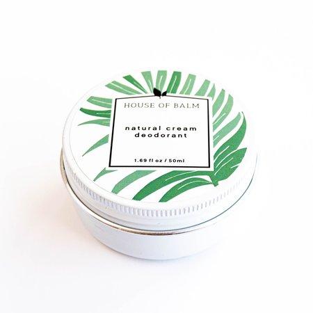 House of Balm No Stress Cream Deodorant
