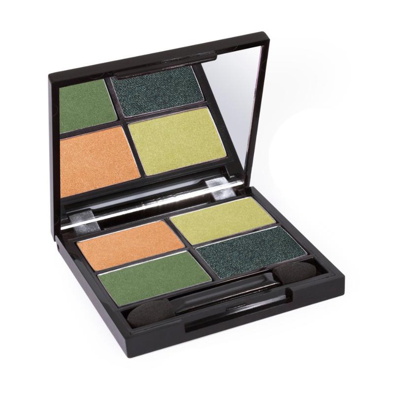 Zuii Organic Quad Eyeshadow Palette Breeze