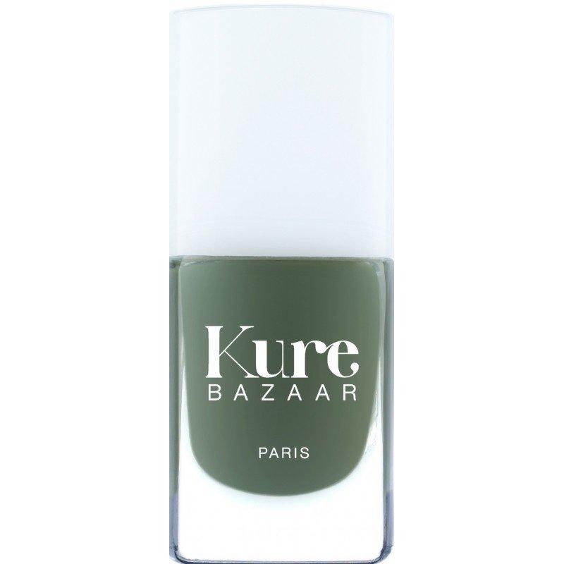Kure Bazaar natuurlijke groene nagellak Khaki