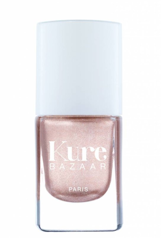 Kure Bazaar natuurlijke goudrose nagellak Or Rose