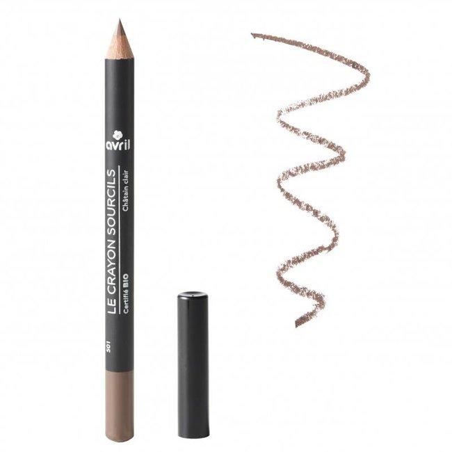 Avril Eyebrow Pencil Châtain Clair