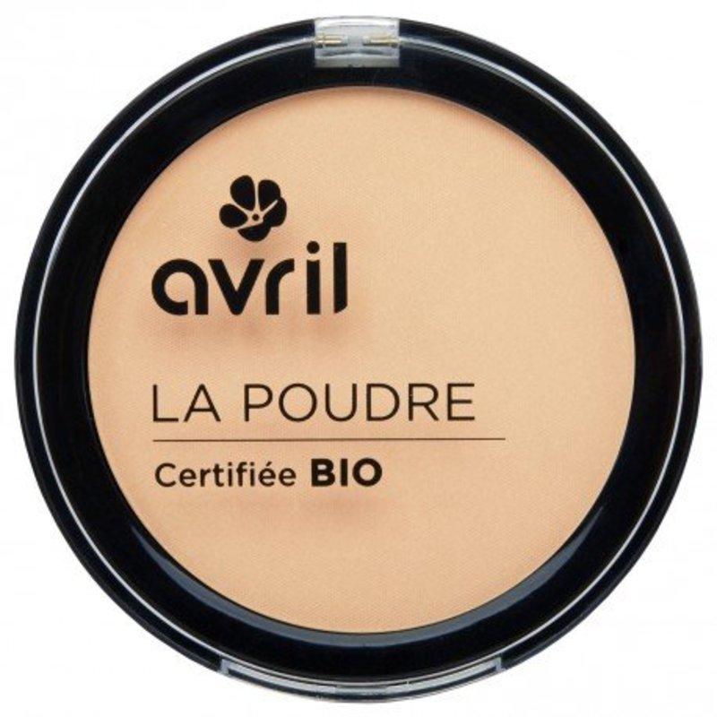 Avril biologische compact poeder foundation porcelaine