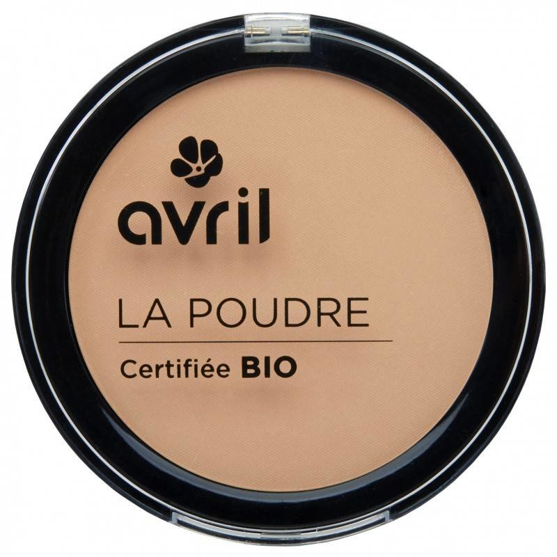 Avril biologische compact poeder foundation nude