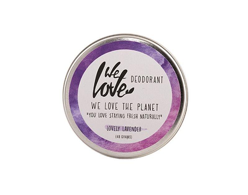 We Love The Planet Natuurlijke crèmedeodorant Lovely Lavender