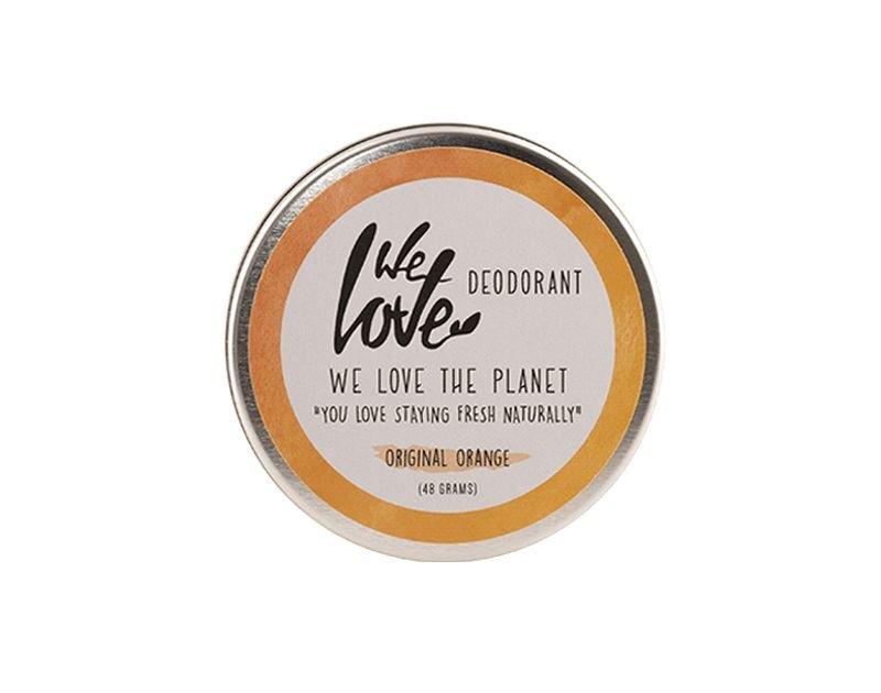 We Love The Planet Natuurlijke crèmedeodorant Original Orange