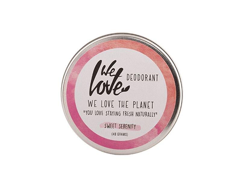 We Love The Planet Natuurlijke crèmedeodorant Sweet Serenity
