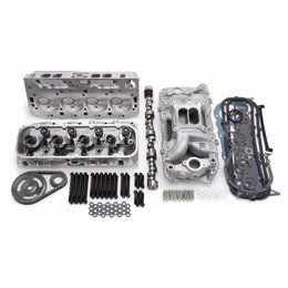 Edelbrock Performer RPM Top End Kit, Small Block Chevy, 460HP + Carburator Deal!