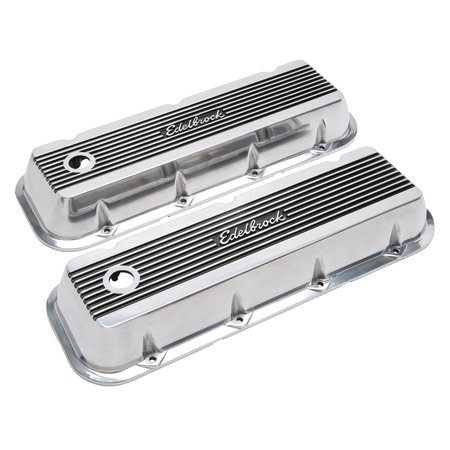 Edelbrock Valve Cover, Elite 2 Series, Chevrolet Big Block