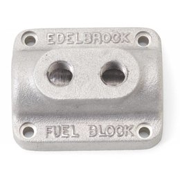 Edelbrock Fuel Block, Dual Carburetor